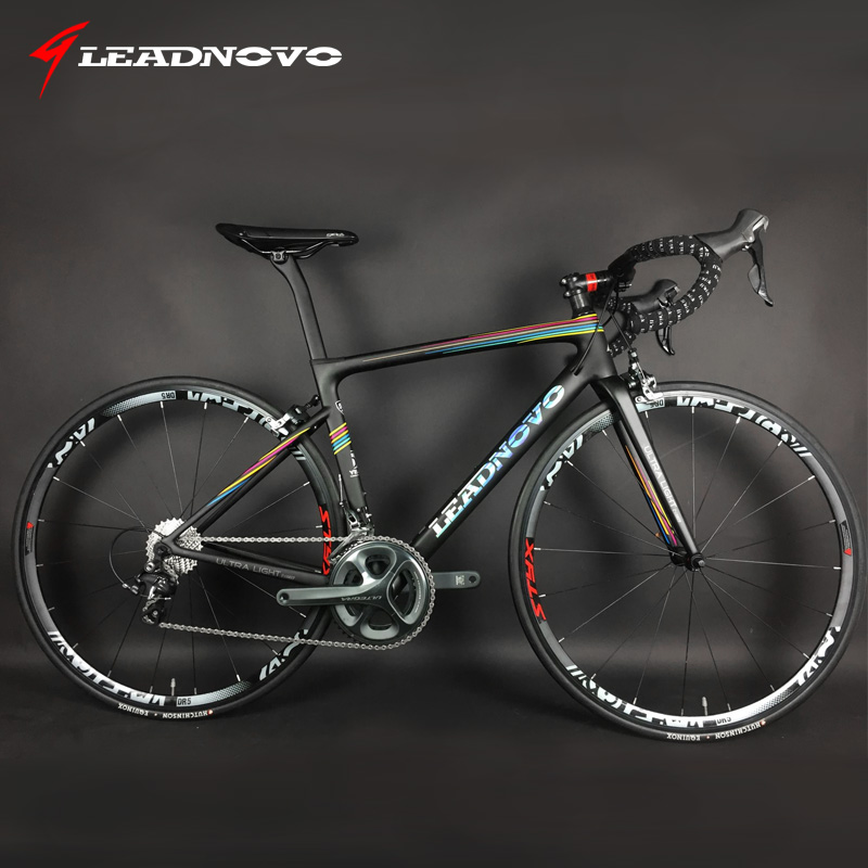 Excellent 700C complete Carbon Fiber Road Bike carbon frame UD bsa bb30 pf30 Racing Cycling FramesetSH1MANO 5800 0