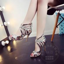Schweinsleder Vollnarbenleder Caged Frauen Schuhe Pumpen Gold Schuhe Glamour Stilettos Schnalle Weichem Leder Atmungsaktive Einfache Neue