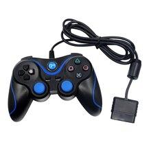 Проводной игровой контроллер с вибрацией игрового контроллера геймпад для sony для PS2 пульт дистанционного управления Джойстик для Игровые приставки 2