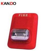 911 24V alarm verdrahtete Sirene Verdrahtete Sirene mit Red Flash Licht feuer sound alarm Licht Sirene ALARM fahrzeug alarm lautsprecher sicherheit EAS
