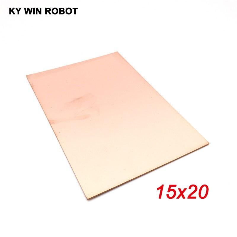 1 шт. FR4 PCB 15*20 см односторонняя медная плакированная пластина, DIY PCB Kit, ламинат, печатная плата 15x20 см