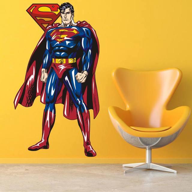 Online Shop 2017 SUPERMAN WALL STICKER Decor Decal Vinyl Room Art ...