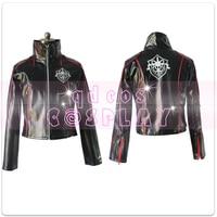 Anime! Kamen Rider Eternal NEVER Captain Katsumi Daido Jacket Leather Uniform Cosplay Costume Daily Coat Free Shipping