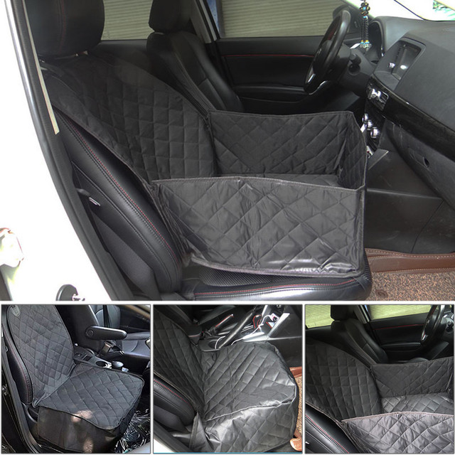 Waterproof Car Passenger Seat Cover Single Front For Pet Dogs