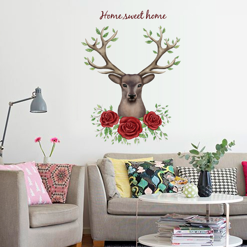 Rose Wall Decor roses wall decor promotion-shop for promotional roses wall decor