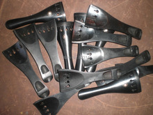 10 Stücke Ebenholz Violine Schwanzstück 4/4 Violine teile