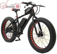 MEGA SALE! CONHISMOR E BIKE 36V 500W Electric Fat Cycling 11AH Lithium Battery E Bicycle 26X4.0 Off Road Mountain Bike