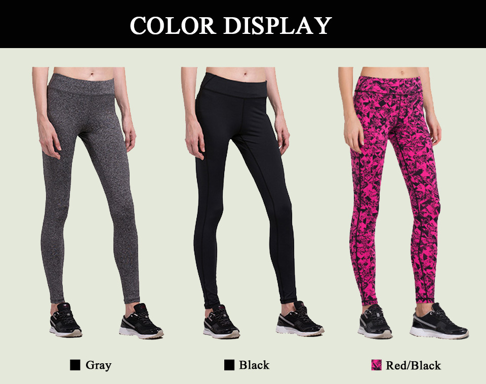 VANSYDICAL Sport Pants Sale For Women Elastic Tights Female Sexy Pant Yoga Gym Fitness Running Trousers Slim Leggings 17