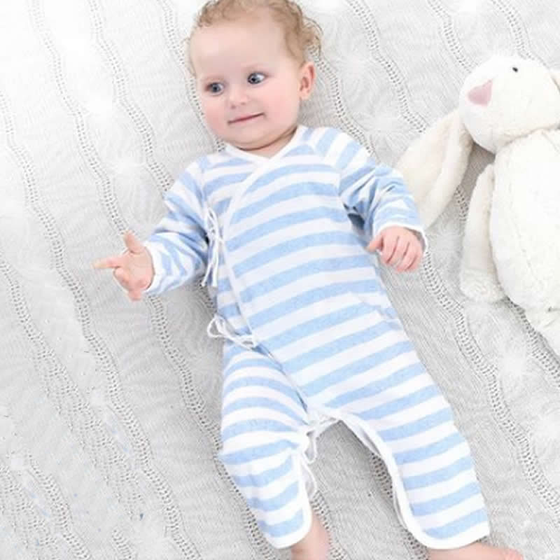 Newborn Baby Onesies Spring Autumn Rompers New born Clothes 0-3 months Cotton 6 Baby Butterfly Harem Underwear Clothing ...