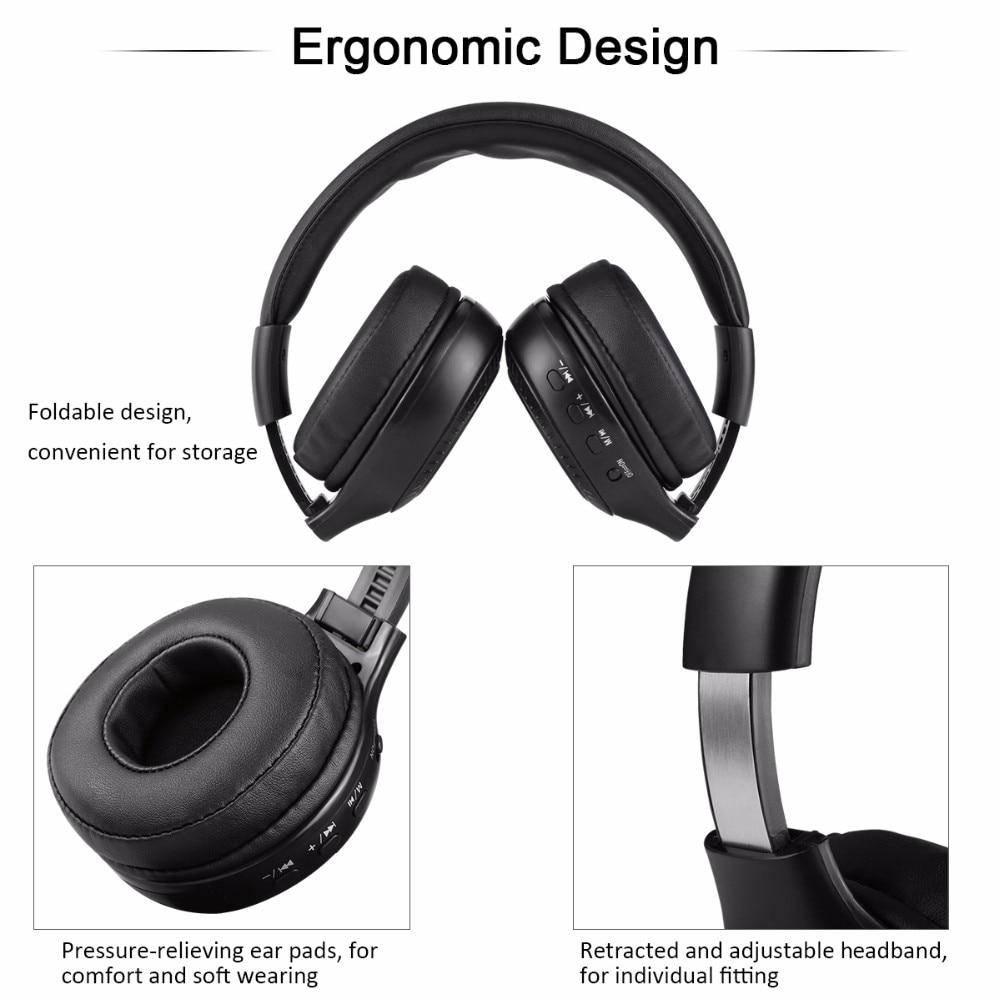 9b65731e2a1 Zealot B19 Wireless Bluetooth Headset Support TF Card FM Radio ...