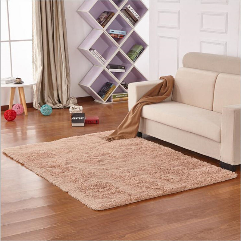 AOVOLL New Soft Long Hair Carpet Bedroom And Living Room Rugs Floor Mat Kind Of Color And Size For Home Decoration Area Rugs