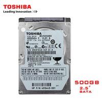 TOSHIBA Brand 500GB 2.5 SATA2 Laptop Notebook Internal 500G HDD Hard Disk Drive 160MB/s 2/8mb 5400 7200RPM disco duro interno