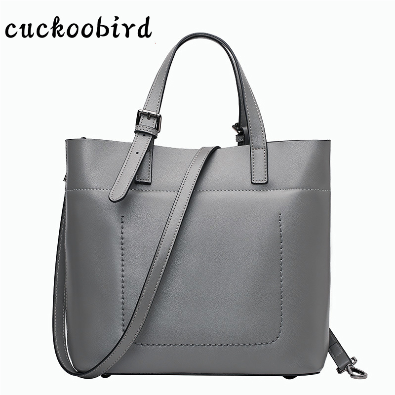 Genuine Leather Capacity Women Handbag Solid Female Bag Crossbody Women's Shoulder Bags Ladies Casual Large Capacity Tote genuine leather shoulder bags for women large capacity messenger crossbody bag female leather tote bag ladies handbag