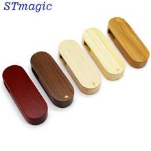 STmagic LOGO wooden customized chip wooden usb flash drive pen drive 8gb 16gb LOGO usb.20 u disk usb stick
