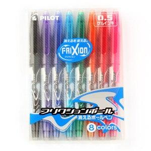 Image 5 - Pilo Gel Pen FriXion dla biurowe biuro 1 zestaw 8 kolorów magiczne wymazywanie dotykowy 0.5mm atrament żelowy wskrzesić pióro LFB160EF8CN