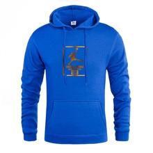 Hot New brand mens sportswear fashion printing hoodie pullover hip hop sweatshirt sweating