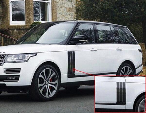 Chrome Car Side Door Air Vents Kit Cover Trim For Land Rover Range Rover Vogue SE