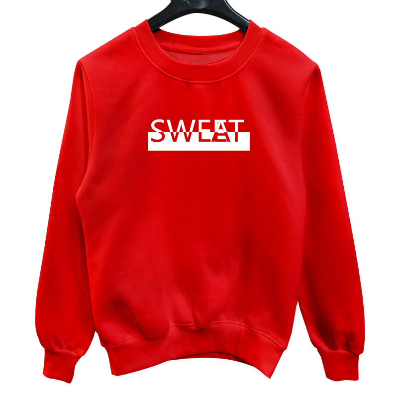 La MaxPa Sweet Sweat New Autumn Winter Fashion Men Crewneck Hoodies Sweatshirt Casual Cotton Thicken Male Pullover Tracksuit Men