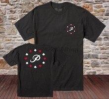 32ca64e4299ad Moda Casual dos homens Primitivos Ace Camiseta Preta de Manga Curta Skate  Tee Crewneck Camisetas mulheres