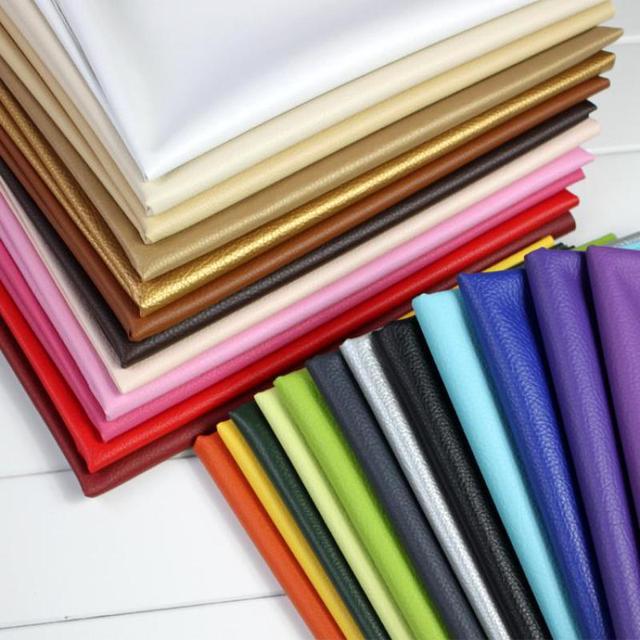 50X68 cm Tecido Para O Sofá de Couro Tecido De Couro Artificial Macio Do Falso Para O Vestuário Papel De Parede Estofos Em Couro Sintético do PLUTÔNIO
