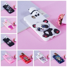 Soft TPU Case For Coque Samsung Galaxy J5 2017 Case J530 3D Silicone Panda Unicorn Back Cover For Fundas Samsung J5 2017 Case