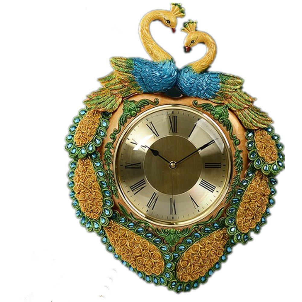 Peacock Wedding Gifts: Novelty Elegant Round Home Decor Wedding Gift Peacock Wall