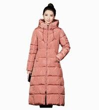 Flying Roc 2019 Winter Jackets For Women Large Size Long Down Coat Plus Parkas Femme Hooded Jacket
