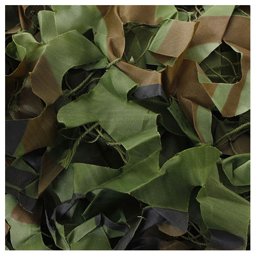 7m x 1.5m Woodland Camouflage Net Shooting Hide Army Net Hunting Camo Netting7m x 1.5m Woodland Camouflage Net Shooting Hide Army Net Hunting Camo Netting