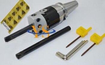 New BT50 Boring head F1 -12 50mm with 2pcs borng bar 100 and 150mm depth &10pcs inserts