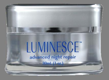 Jeunss e luminsce eficiente reparación crema de noche hidratante después de la reparación