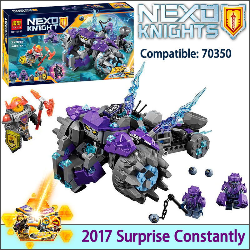 2017 NEW Nexus Knights Building Blocks set The Three Brothers Kids gift bricks toys compatible with LegoINGlys 14028 70350