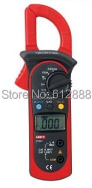 UNI-T UT201 LCD Digital Clamp Multimeter Ohm DMM D...