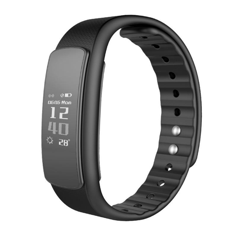 imágenes para IWOWNFit i6HR Smartband Smart Wrist Band Pasómetro Mensaje Recordatorio de Llamada Rastreador de Ejercicios para IOS Android Teléfono IP67 A Prueba de agua