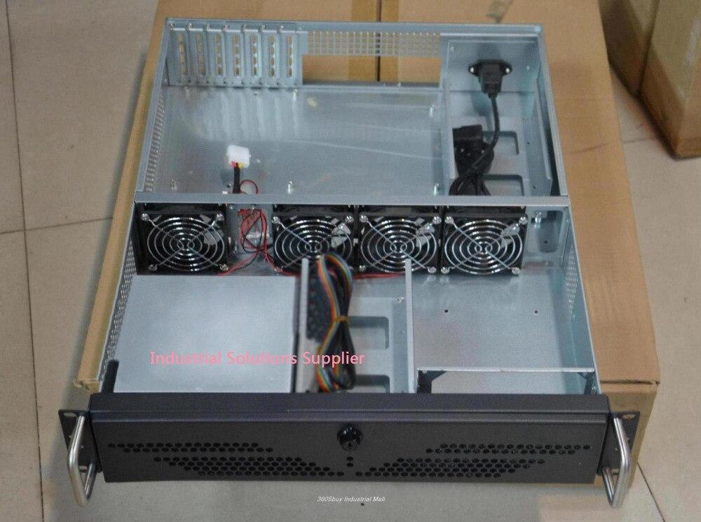 Standard 2u computer case full open door 2u server computer case large-panel big power supply 2u industrial computer case