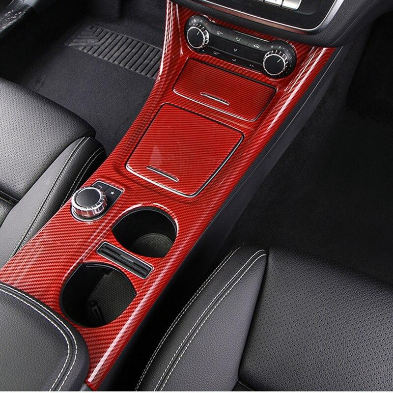 Gear Shift Side Storage Box Holder For Mercedes Benz CLA C117 W117 2013-2017