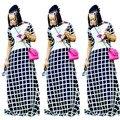 2017 Африканский Одежда Традиционную Одежду Африканская Реальные Платья Для Женщин В Африканских Одежда Хлопок Новая Мода Одежда
