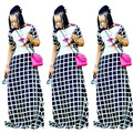 2017 Vestuário Africano Tradicional Robe Africaine Vestidos Para As Mulheres Na Venda de Roupas Africano Real Algodão Novas Roupas Da Moda