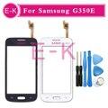 """Оригинал Для Samsung Galaxy Star 2 Plus SM-G350E G350E Сенсорный Экран Датчик Дигитайзер Переднее Стекло Объектива 4.3 """"черный Или Белый + Инструментов"""
