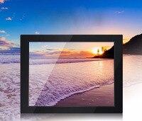 8 inch industrial safety monitoring computer LCD monitor display BNC AV VGA HDMI metal