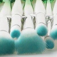 10pcs Makeup Brushes Tool Sets Foundation Eye Shadow Blending Powder Contour Blush Cosmetics Make Up Brush