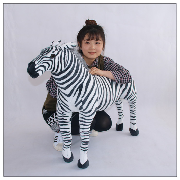 simulation zebra doll large 80x70cm plush toy ,home decoration toy surprised birthday gift h2910 gift n home