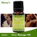 Óleo de massagem de sexo óleo para o corpo do sexo Interessante excitador de óleos essenciais para os homens e mulheres 10 ml frete grátis