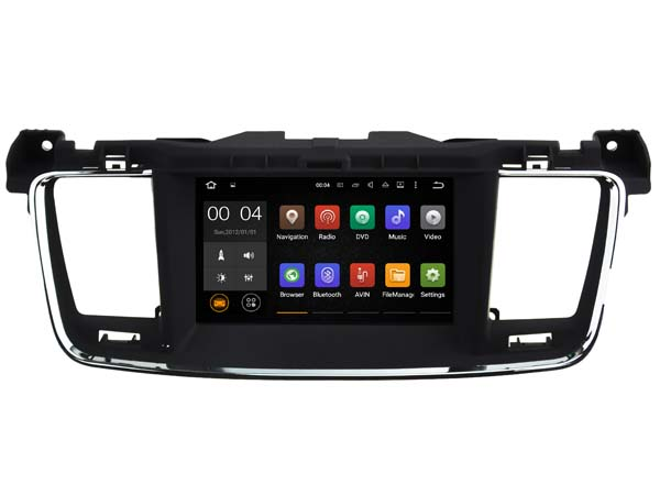 Quad Core Android 5.1.1 car dvd player For 1024*600LCD 7″ P-EUGEOT 508 CANBUS gps bluetooth radio stereo DVR 3G Map