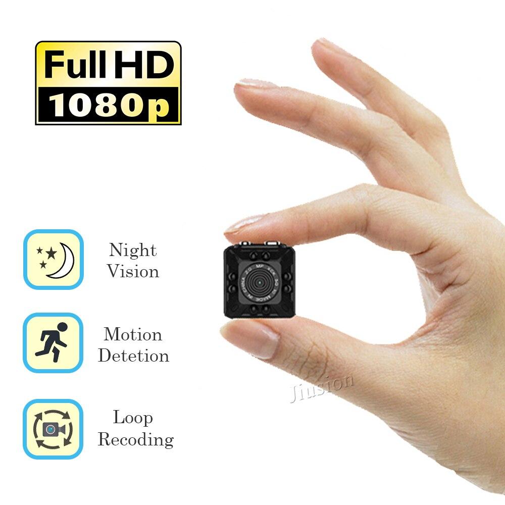 Mini DVR Caméra Full HD 1080 P Vision Nocturne Détection de Mouvement Micro Enregistreur de Sécurité Nounou Cam DV Action Sports Vidéo caméscope