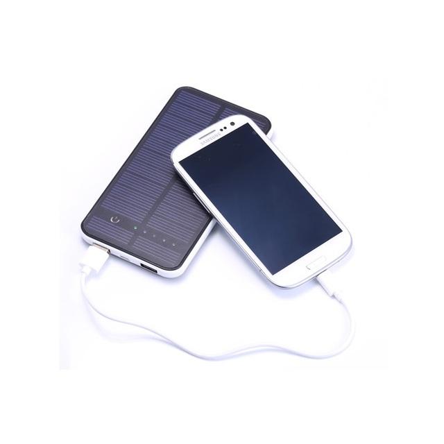 Profissional de produção de energia solar móvel portátil banco 10000 mah