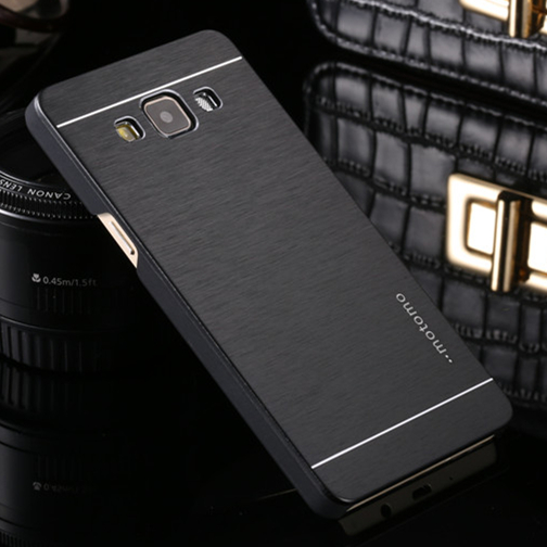 Brushed Aluminum Metal Armor Back Cover Case Samsung Galaxy J1 J3 J5 J7 Prime A3 A5 A7 A8 A9 2016 E5 Z1 On5 On7 Cases  -  Climb Electronic Technology Co., Ltd. store