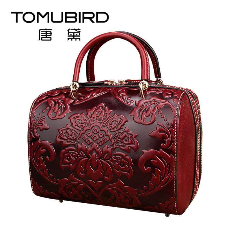 TOMUBIRD 2017 new retro embossing superior leather designer famous brand women bags luxury genuine leather handbags shoulder bag tomubird new original hand embossed superior leather designer bag famous brand women bags genuine leather handbags shoulder