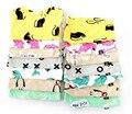 BB170 2015 Niños modelo animal pijamas de algodón ropa de bebé top + pants 2 unids. niños que duermen pijamas al por menor
