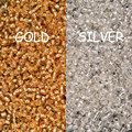 Free Shipping 1500PCS 2mm Czech Seed Spacer Beads transparent beads /gold silverglass beads for jewelry making DIY Pick