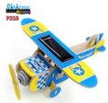 Robotime DIY Солнечной Энергии Самолет 3D Деревянные Головоломки Обучения Образование Игрушки для Детей